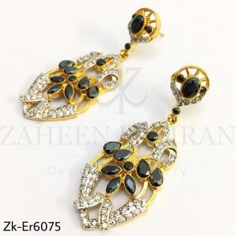 Agate Zirconian earrings
