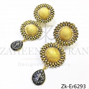 Sunflower Golden Earring