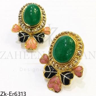 Emerald Classy Earrings