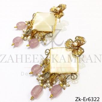 Opal stylish earrings