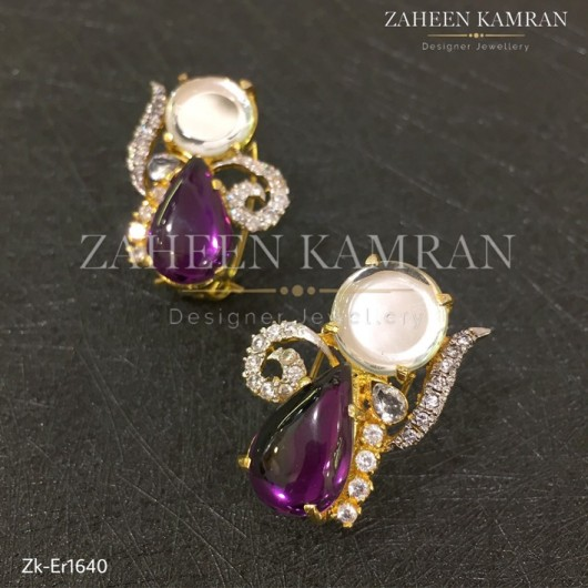 Amethyst Royal Studs!