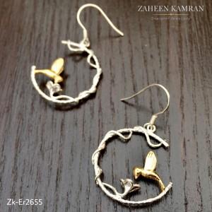 Birdie Silver Earrings!