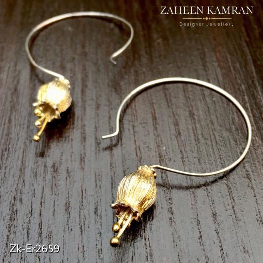 Flower Loop Earrings!