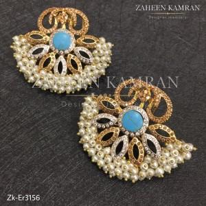 Feroza Topaz Earrings