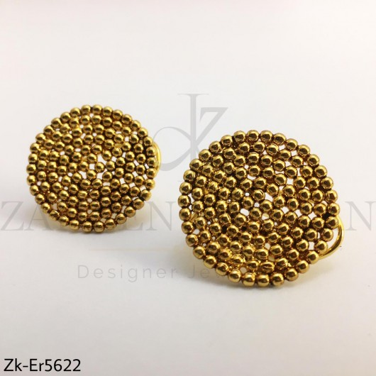 Ball round earrings
