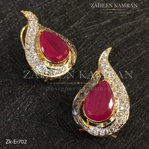 Ruby Eyes Earrings!