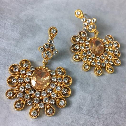 Champagne Filigree earrings!