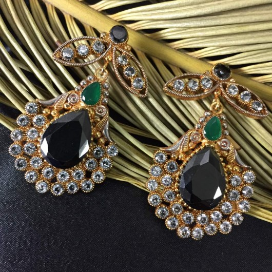 Agate Flower Earrings!