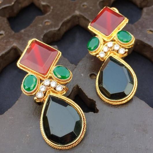 Agate Oval Earrings!