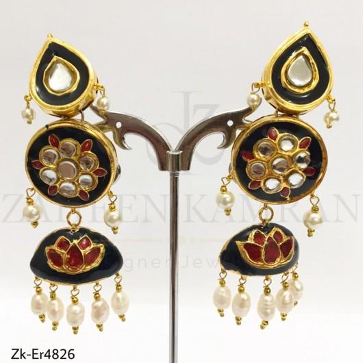 3 Steps Meena Earrings