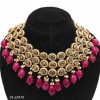 Pink ruby Necklace Set