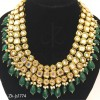 3 Layer Kundan Fancy Necklace Set