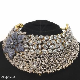 Floral Kundan Special Necklace Set