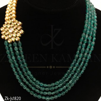 4 Layer Zinc Necklace set