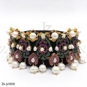 3D Gorgeous Pearls Choker Set