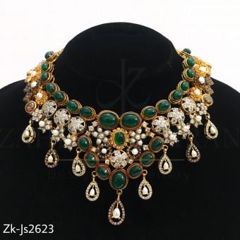 Emerald Zirconian set