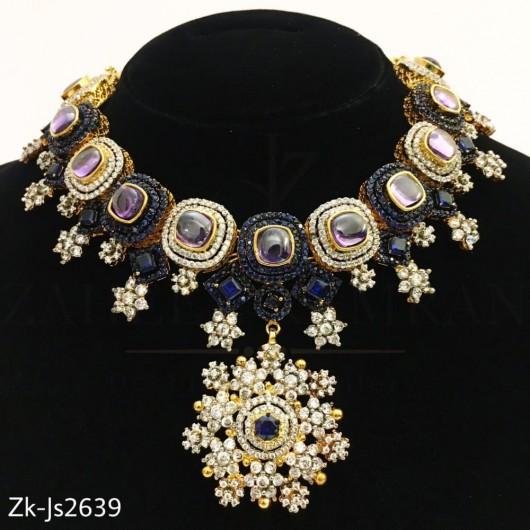 Sapphire Zirconian set