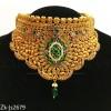 Antique emerald set