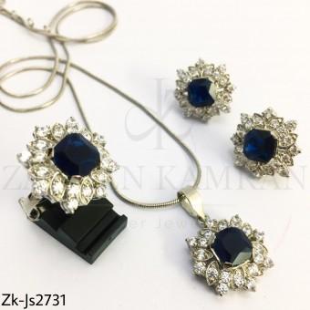 Zirconian sapphire set