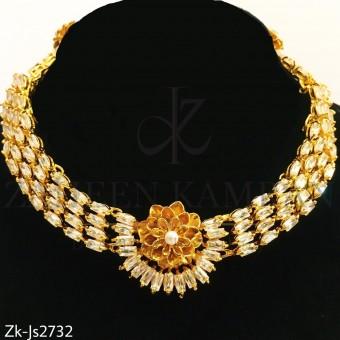 Floral gold set
