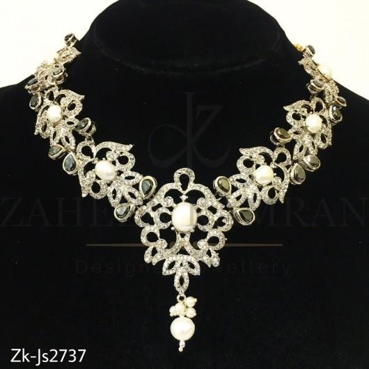 Zirconian agate sleek set