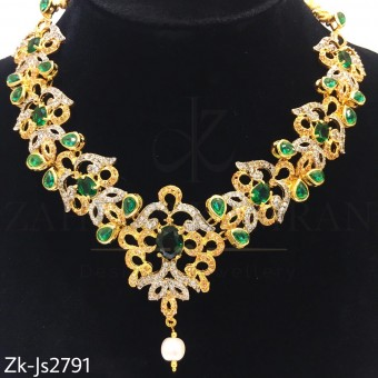 Emeralds sleek set