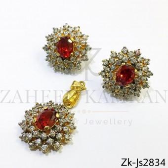 Zirconian ruby set