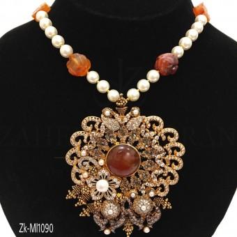 Filigree Stylish Designed Necklace Set