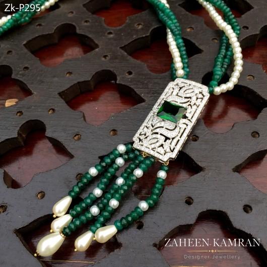 Emerald Zirconian Pendant!
