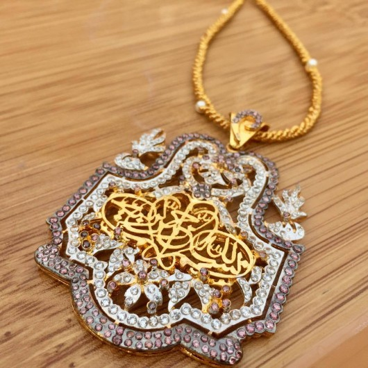 Coffee Calligraphy Pendent