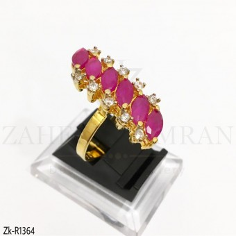 Pink Marquise Stunning Ring