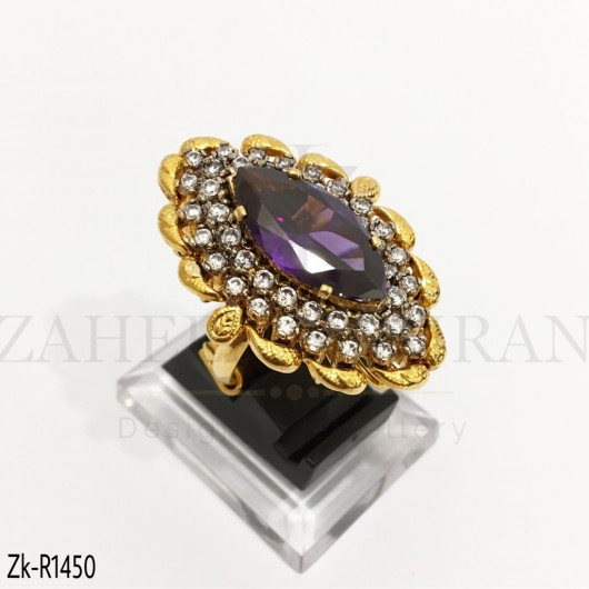 Amethyst Marquise Stunning Ring
