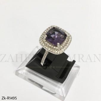 Radiant Amethyst Ring
