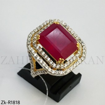 Ruby square ring