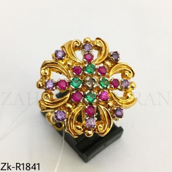 Floral multi ring