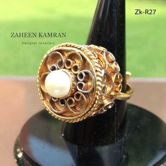 Egyptian Pearl Ring!