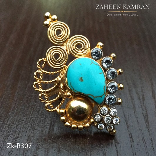 Elegant Feroza Ring!
