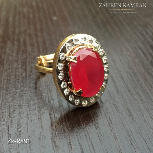 Chunky Ruby Ring!