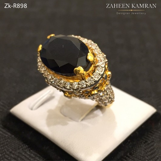 Agate Zirconian Ring!