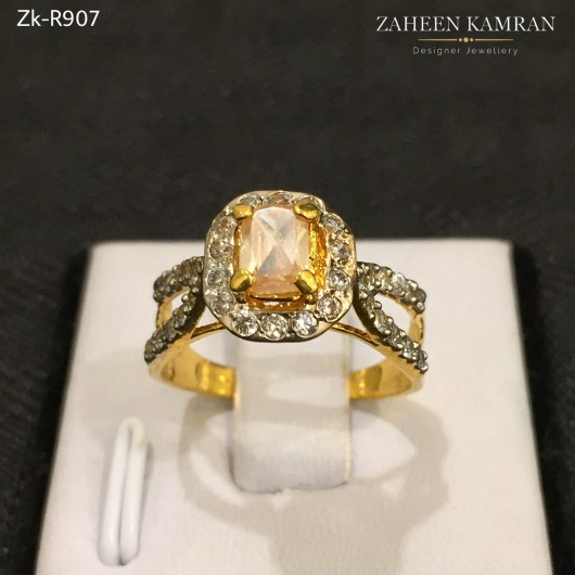 Graceful Champagne Ring!