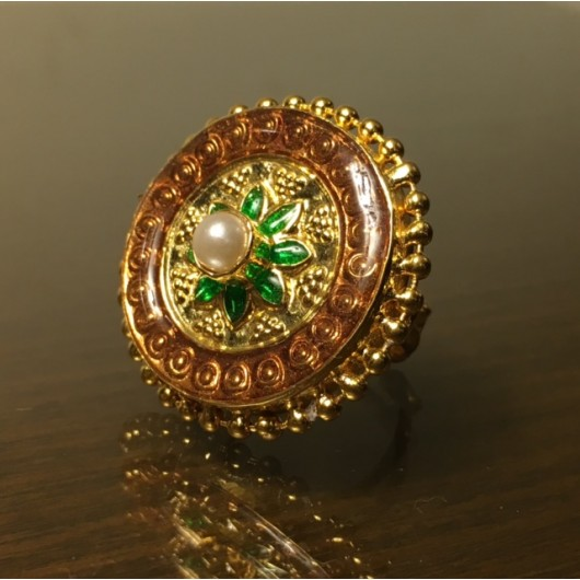 Meena Round Ring!