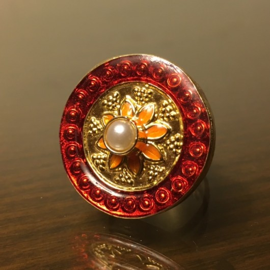 Red Meena Ring!