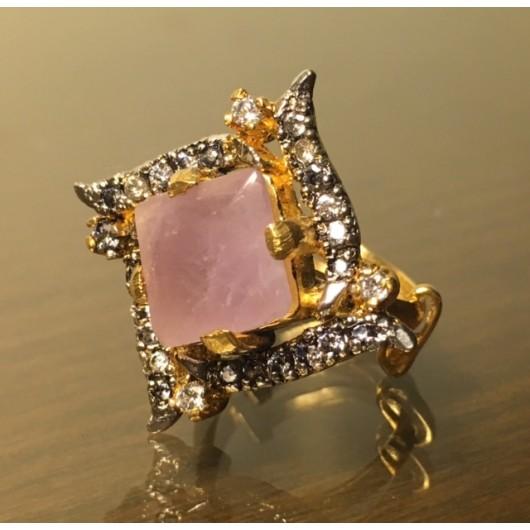 Pink Filigree Ring!