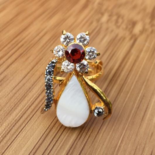 Pearl Flower Ring!