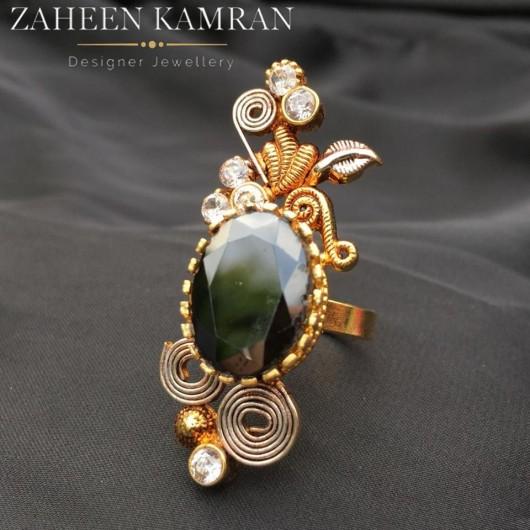 Agate Handmade Ring!