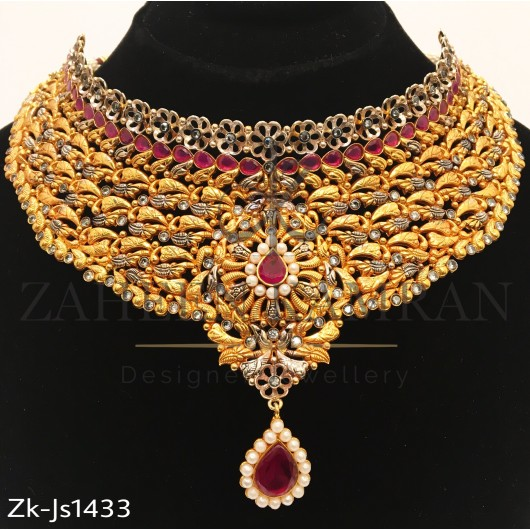 Amazing Gold Ruby Set