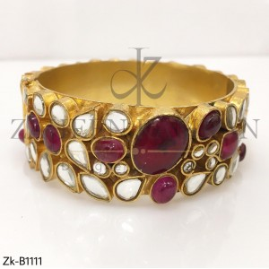 Tribal Ruby Bangle