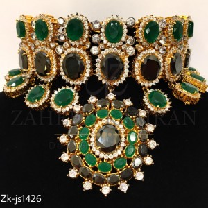 Splendid Emerald Choker