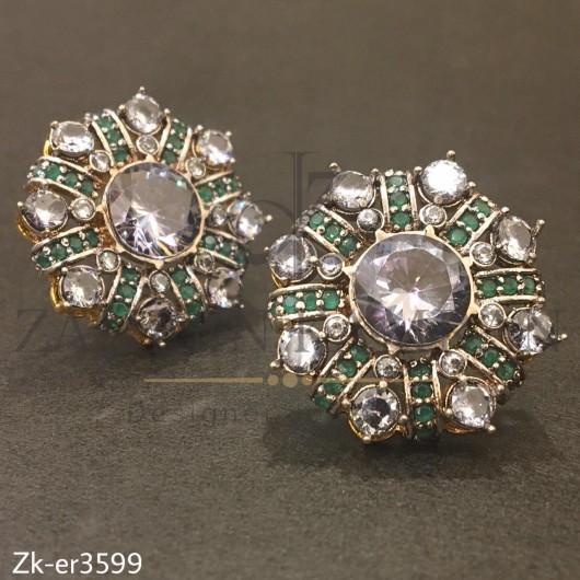 Emerald Stones Tops