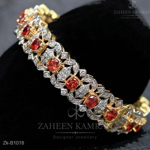 Inspired Ruby Bangle